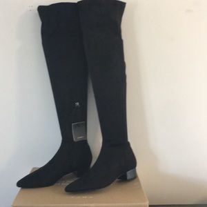 Zara above the knee boots